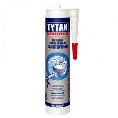 Герметик силикон  санитарный TYTAN 310мл.