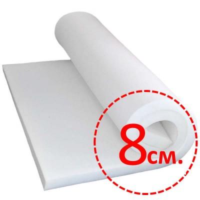 Поролон (80мм) 1х2м