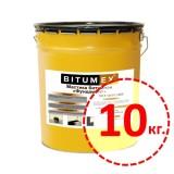 Мастика битумная для фундамента Bitumex 10кг.