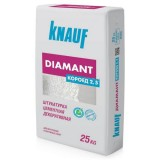 "Knauf Diamant - штукатурка декоративная ""короед"" (зерно 2.5мм), 25 кг."